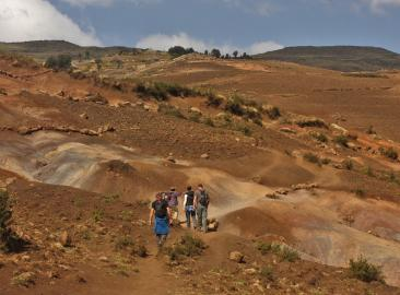 Simien Mountain Charity Trek in Ethiopia