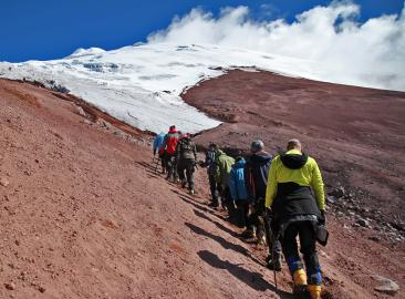 Avenue of the Volcanoes Charity Mountain Trek in Ecuador