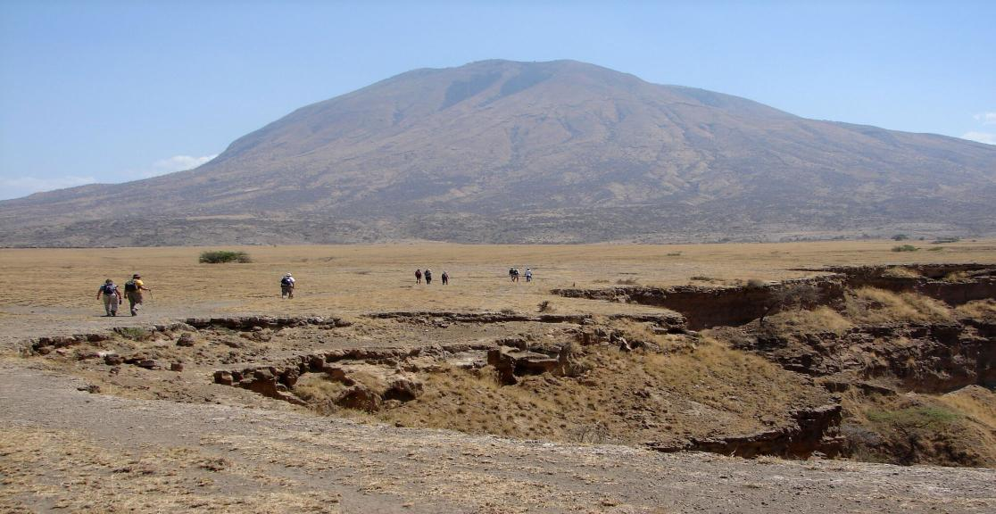 Walking the rim of the crater - day 5