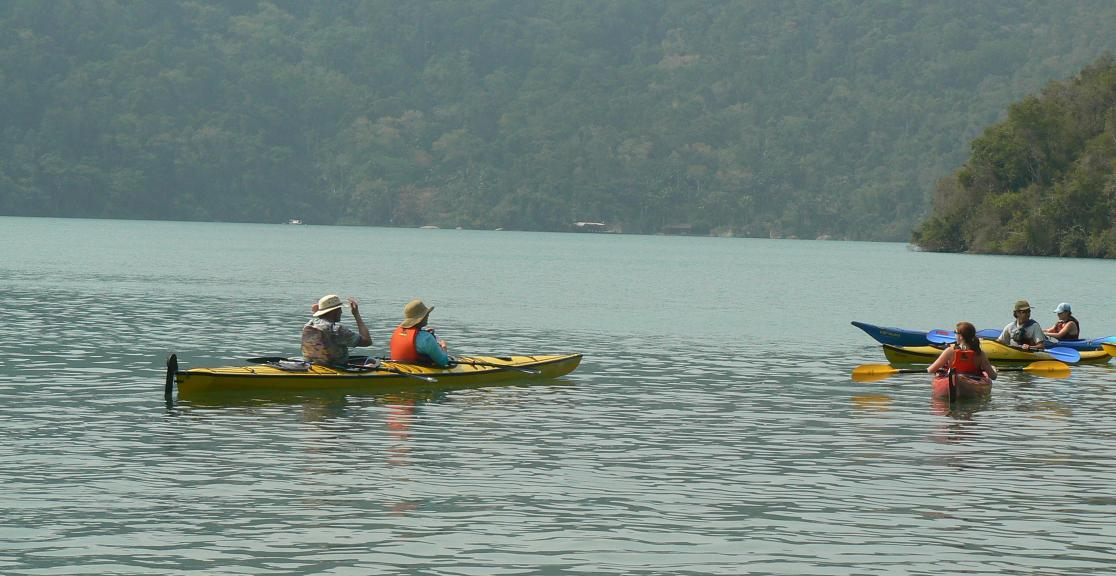 Brazil charity Trek and Kayak