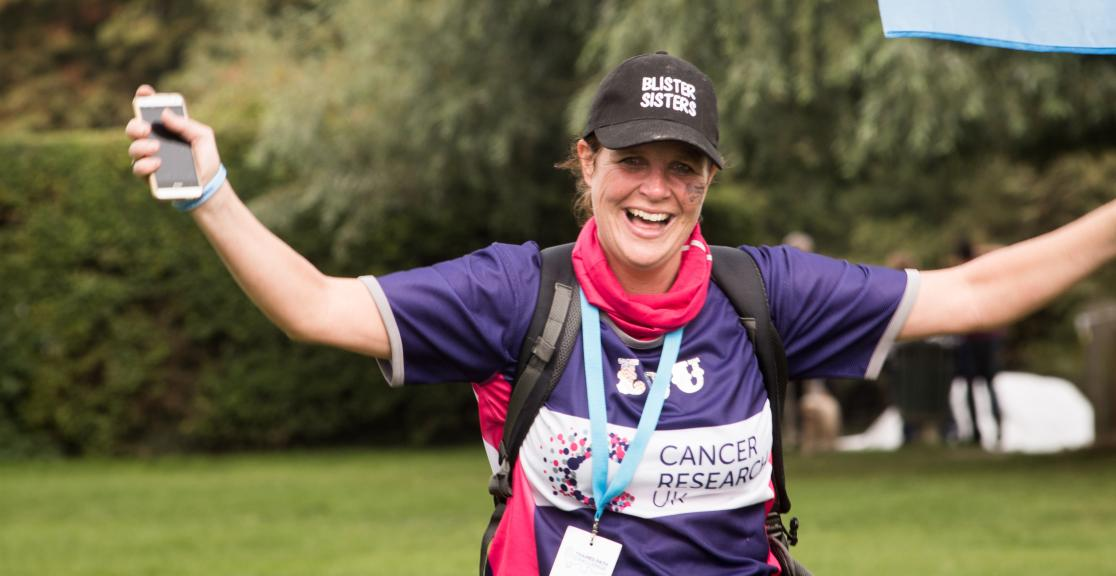 Cancer Research trekker