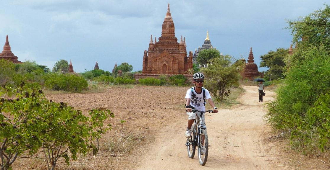 Charity Bike Ride in Burma