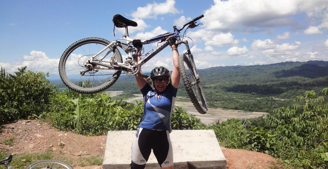 Charity Cycle from Machu Picchu to the Amazon in Peru