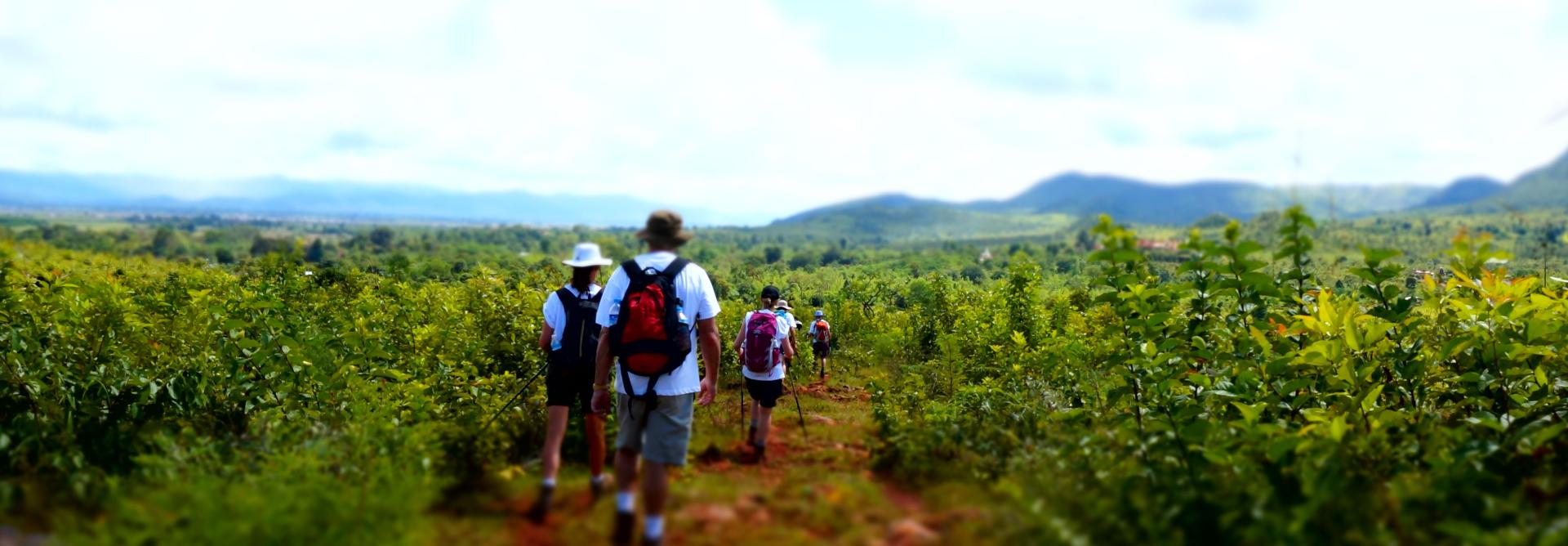 Charity Trek in Burma