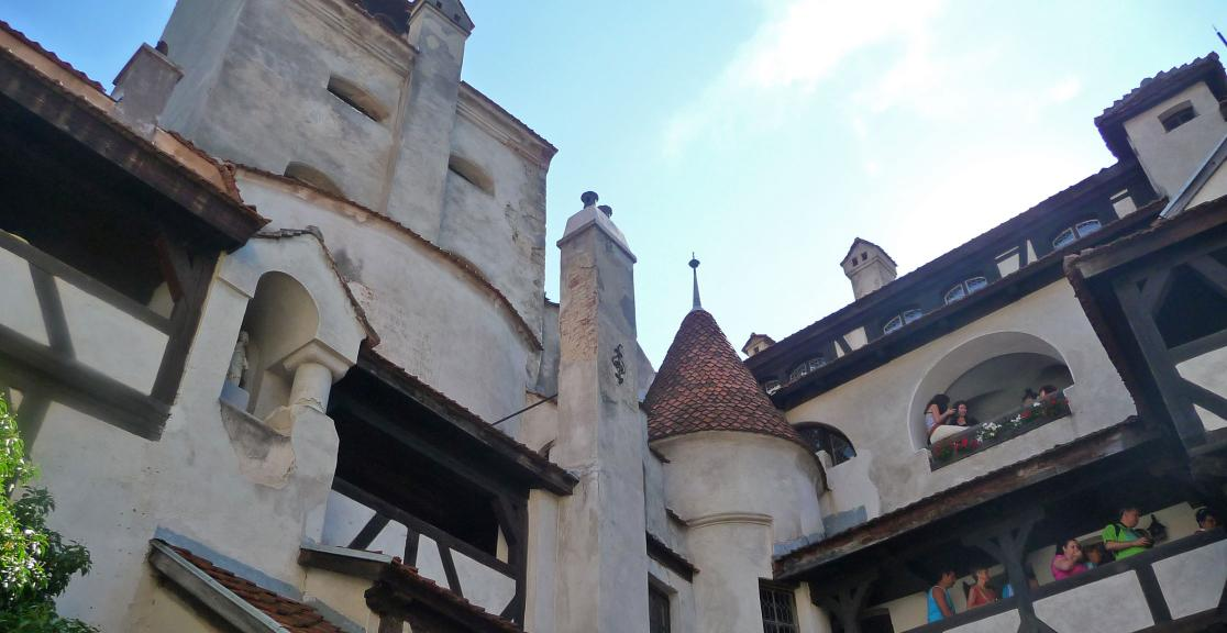 Charity Trek in Romania. See Transylvania's castle
