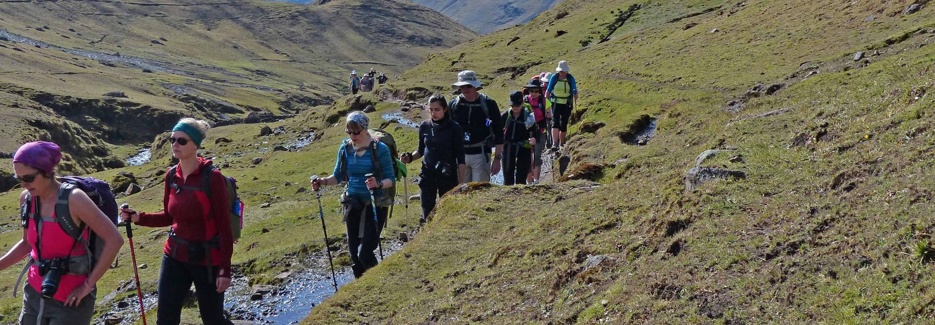 Charit Trek to Machu Picchu in Peru through the Lares Valley