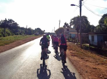 Charit Bike Ride in Cuba