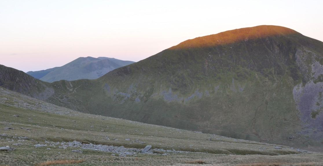 Snowdon's Beautiful Hills at Sunrise