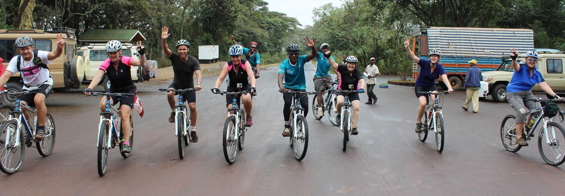 Cycle Kenya riders