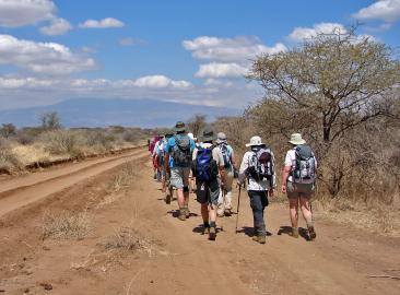 Charity Trek with the Maasai Mara in Tanzania