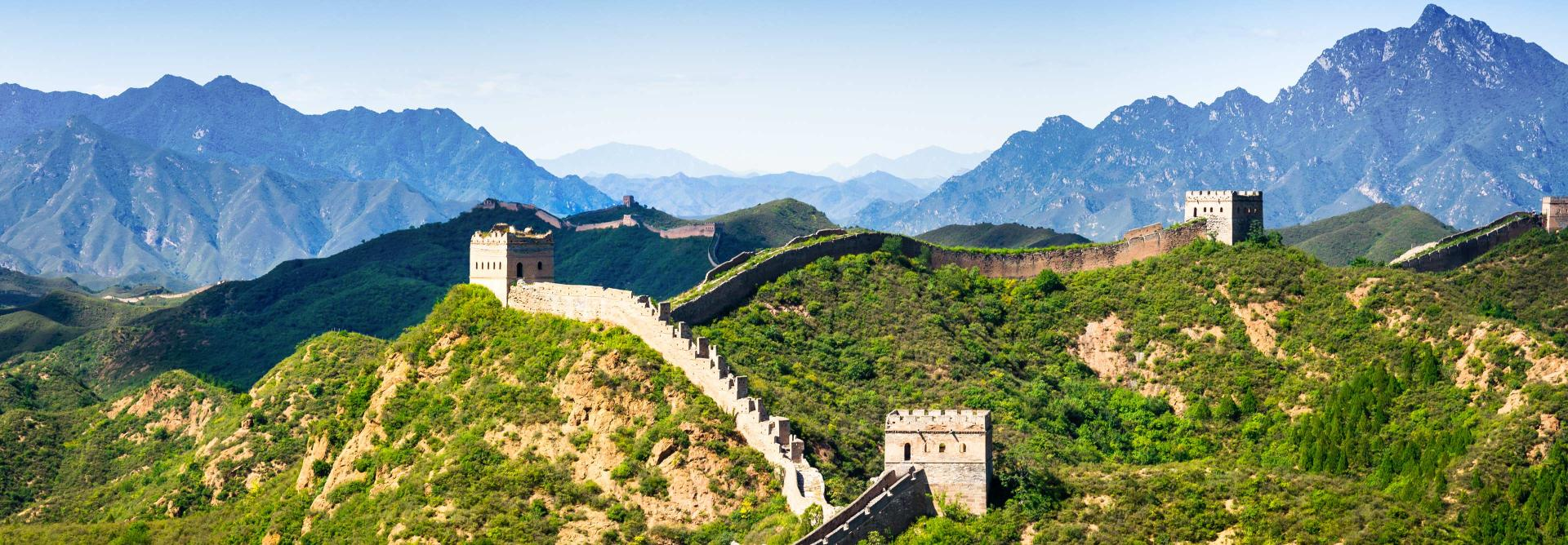 Watchtowers on the Great wall of China Charity Challenge