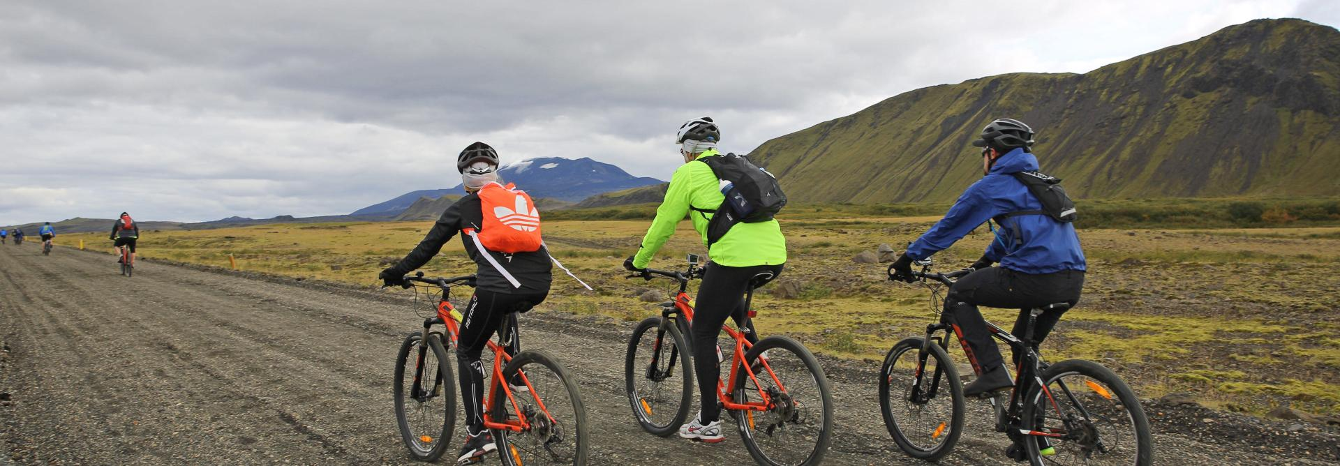 Fire and Ice Charity Bike Ride in Iceland