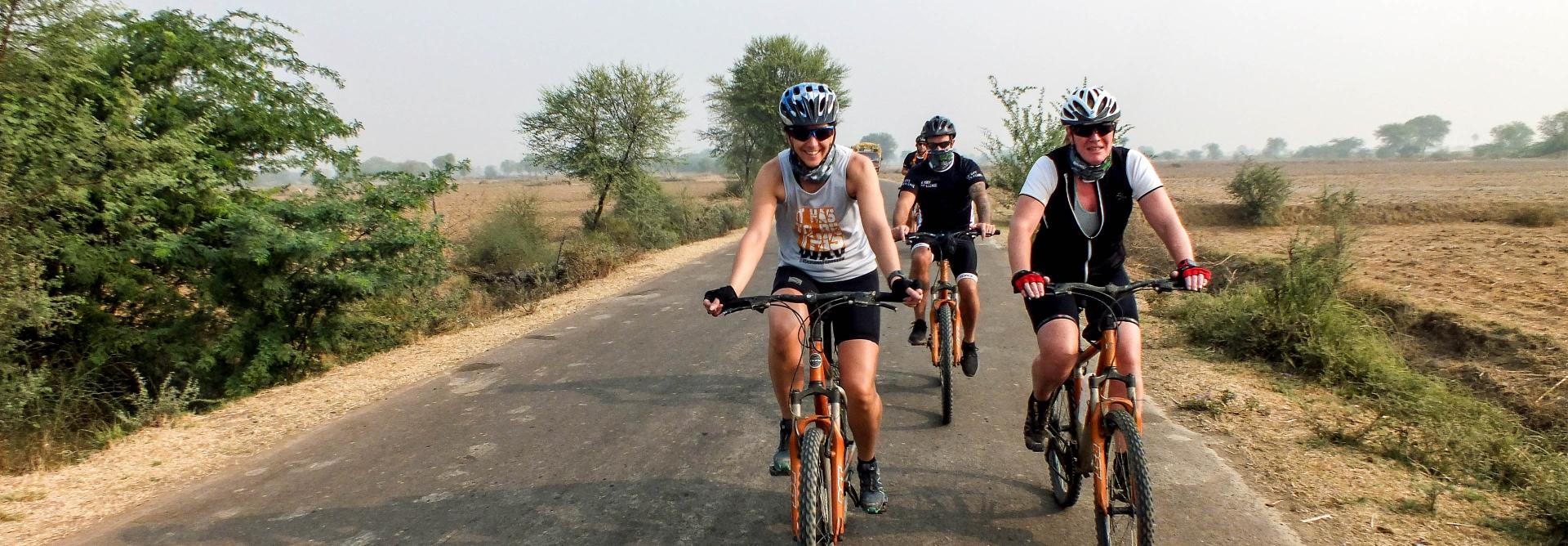 India Golden Triangle cycle challenge