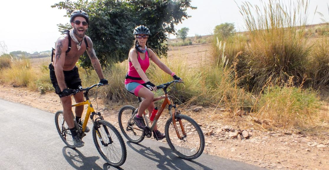 Riding through rural India on the India cycle challenge