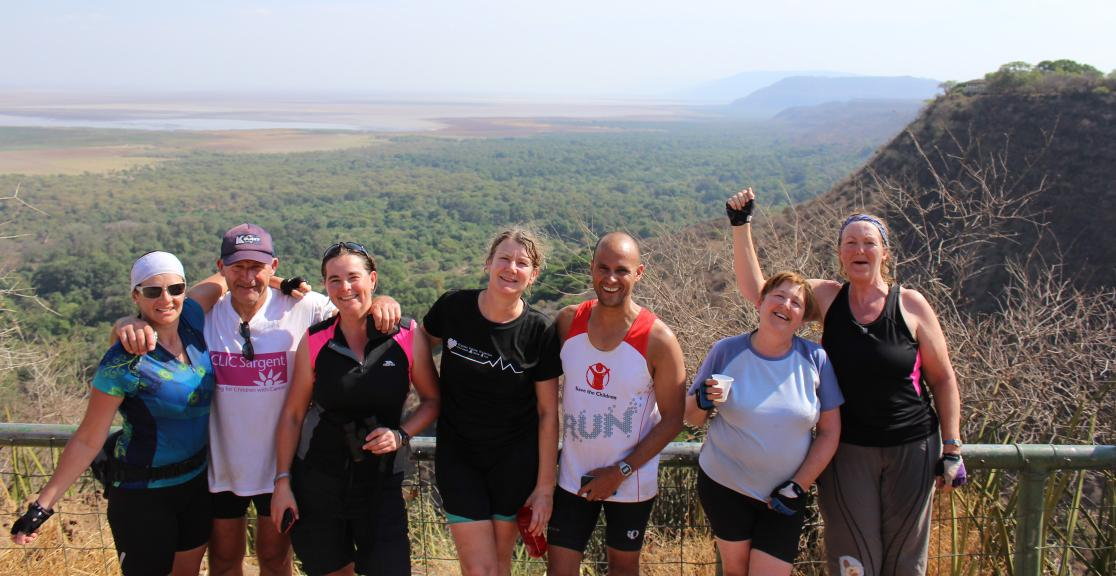 KILIMANJARO TO NGORONGORO CRATER BIKE CHALLENGE