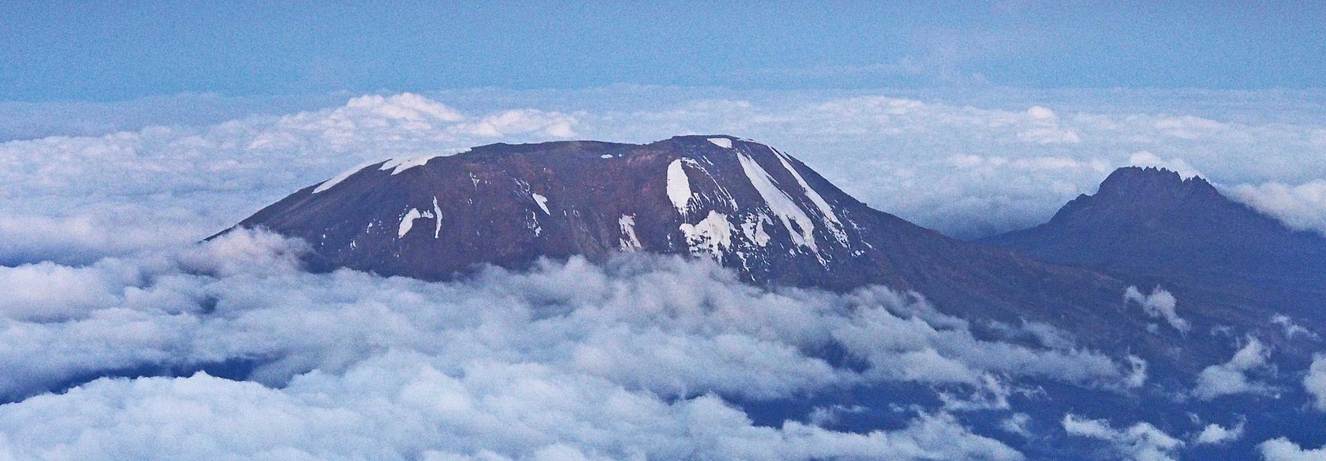 Kilimanjaro Mountain Charity Trek in Tanzania in Africa. Highest Freestanding Mountain in the world