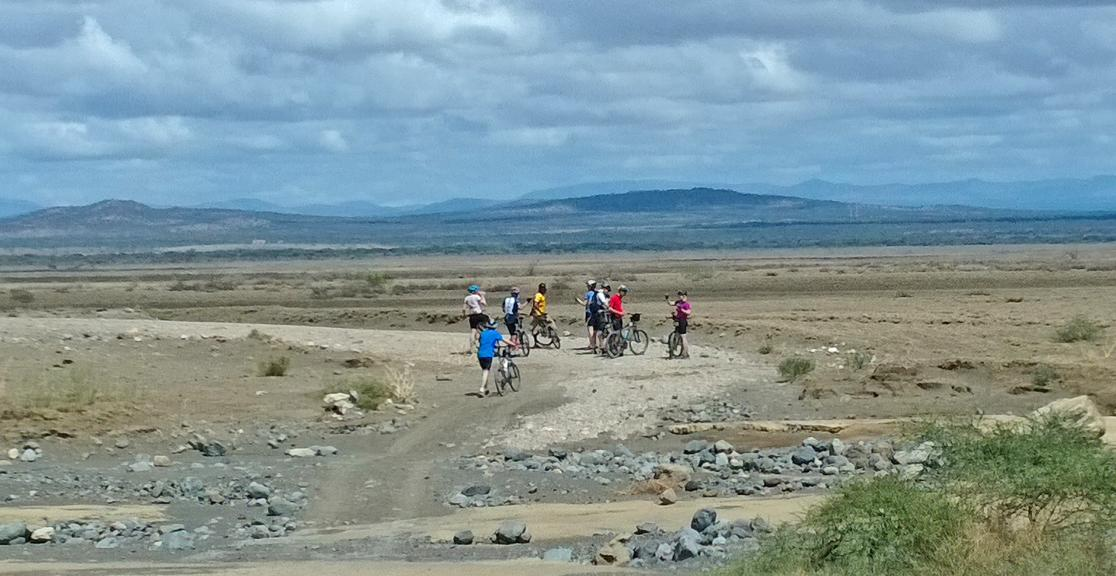 Kilimanjaro to Ngorongoro Crater Charity Bike Ride in Tanzania
