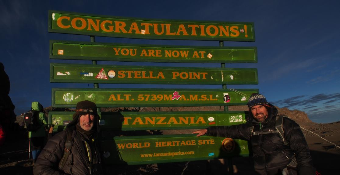Kilimanjaro Mountain Charity Trek in Tanzania in Africa. Highest Freestanding Mountain in the world. Summit Kilimanjao
