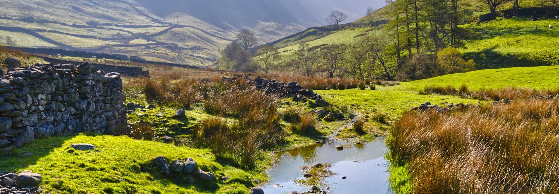 Lake District 5 Peaks Charity Trek in the UK