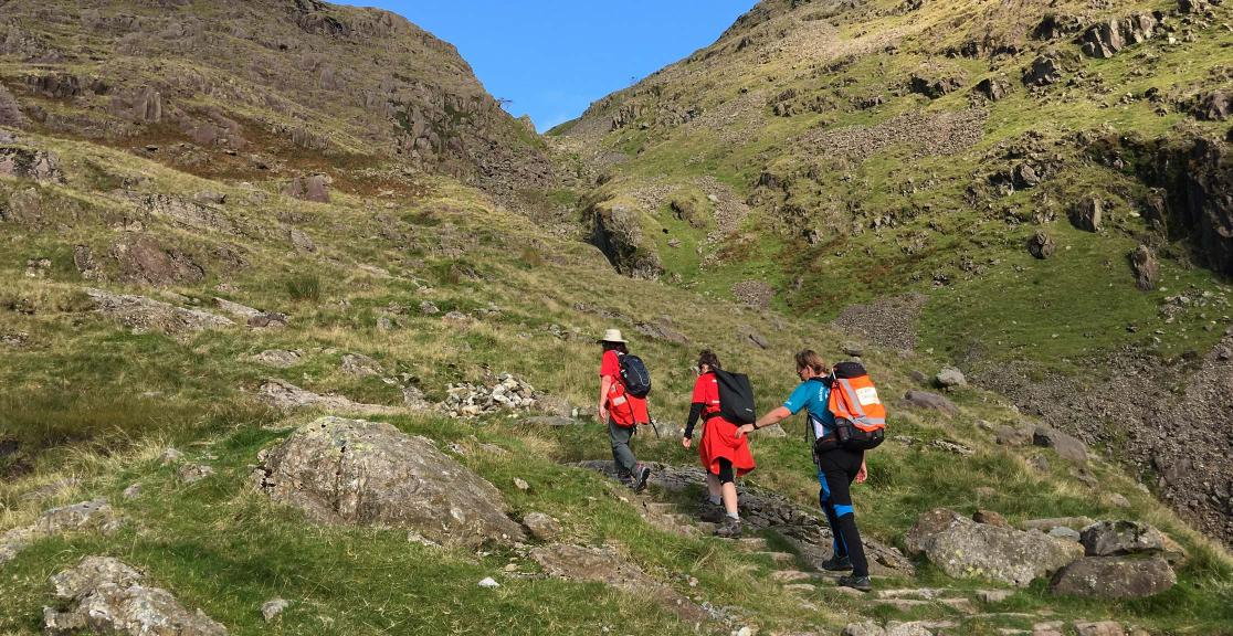 Lake District trekking
