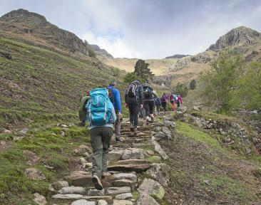 Lakes 8 Peaks Charity Trek in the UK