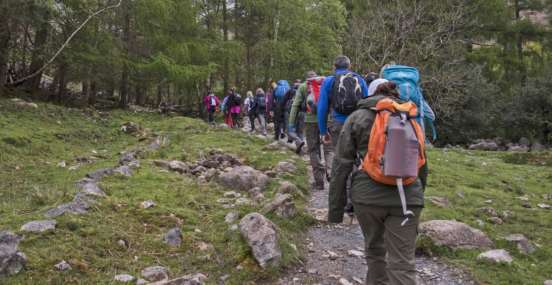 Charity Trek in the UK