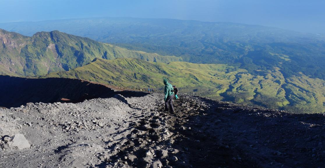 Lombok Lava Charity Trek in Indonesia