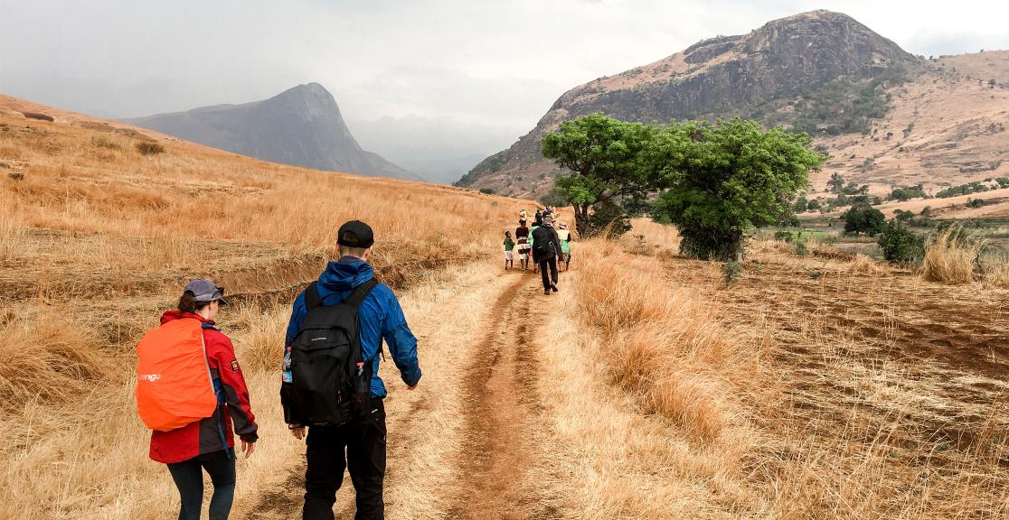 Madagascar trek - walking through the valleys of Madagascar