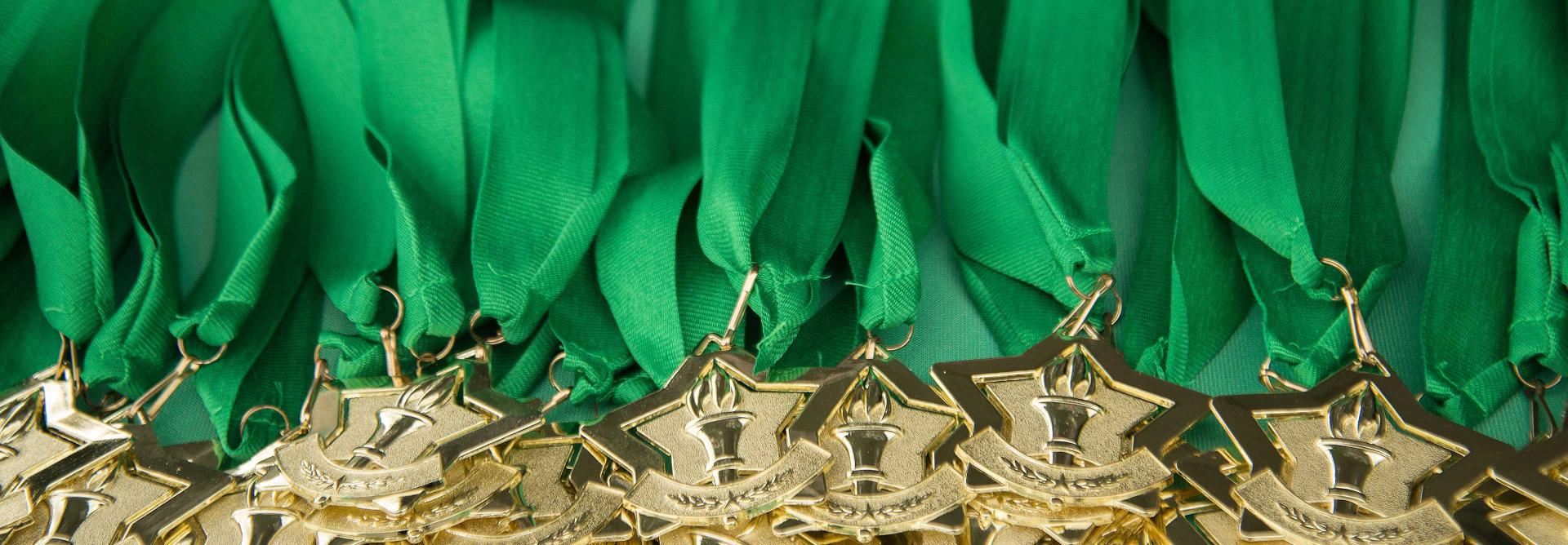 NSPCC Adventure Challenge medals