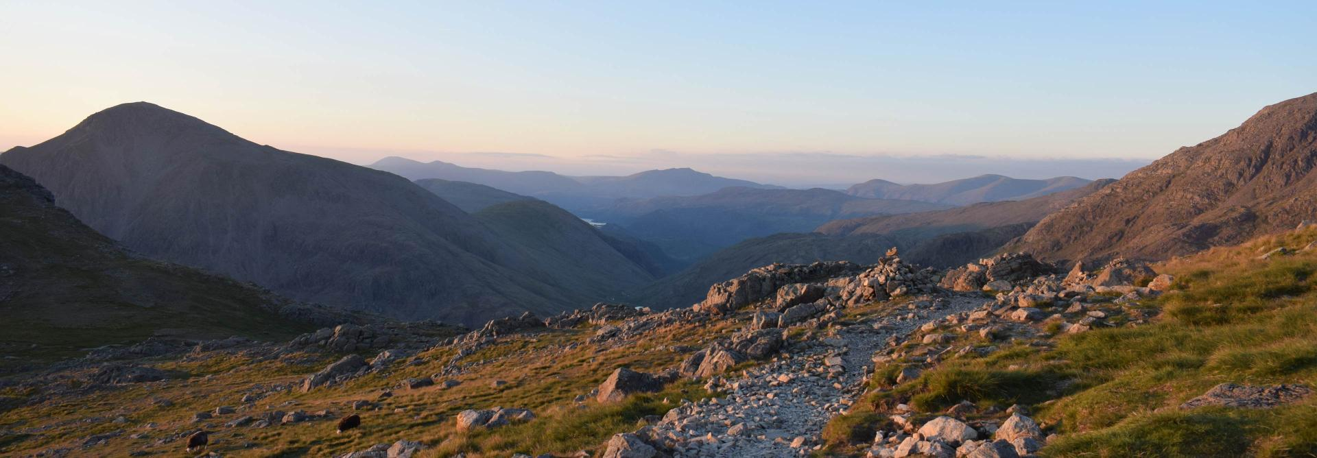 National Three Peaks Scafell Pike