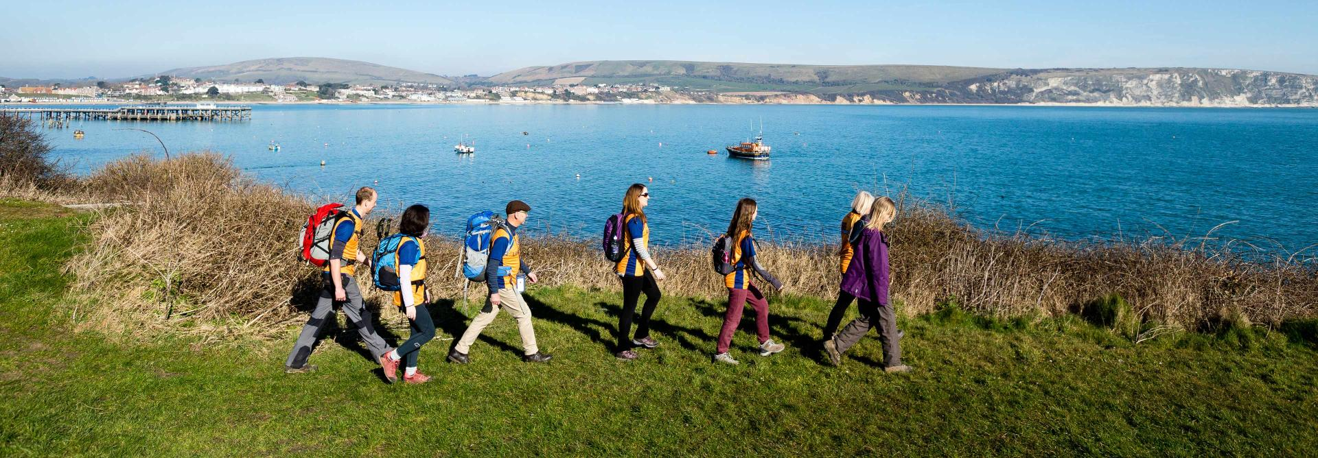 Jurassic Coast Charity Trek