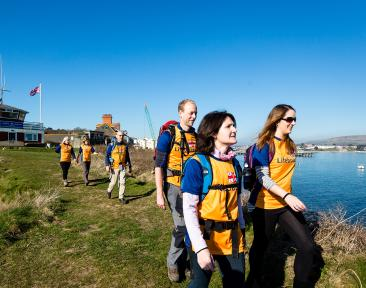 RNLI Jurassic Coasts Charity Trek