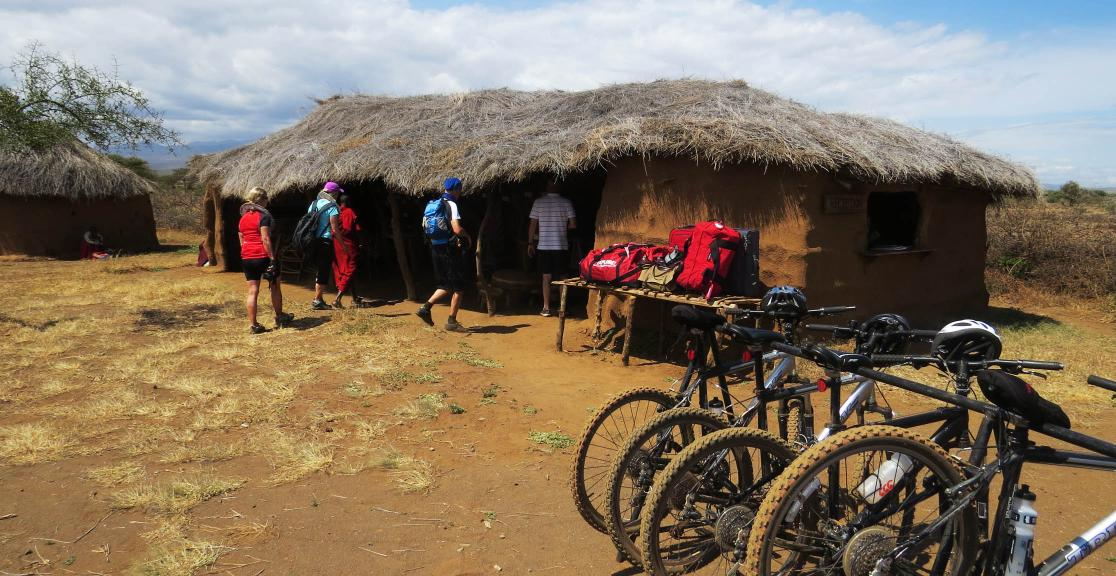 Ride Africa huts