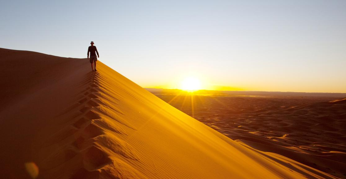 Sahara Desert Charity Trek in Morocco