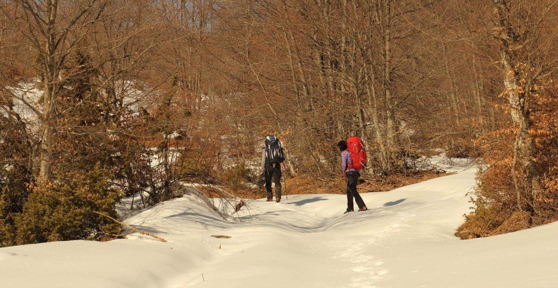 Balkans Winter Challenge trekking Sharr mountains