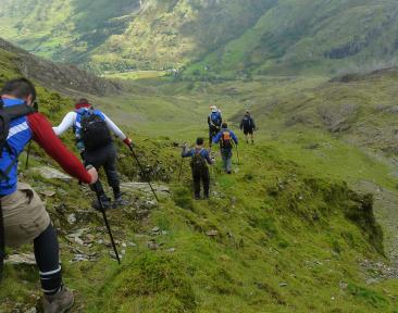 Snowdon Multi Activity Charity Challenge