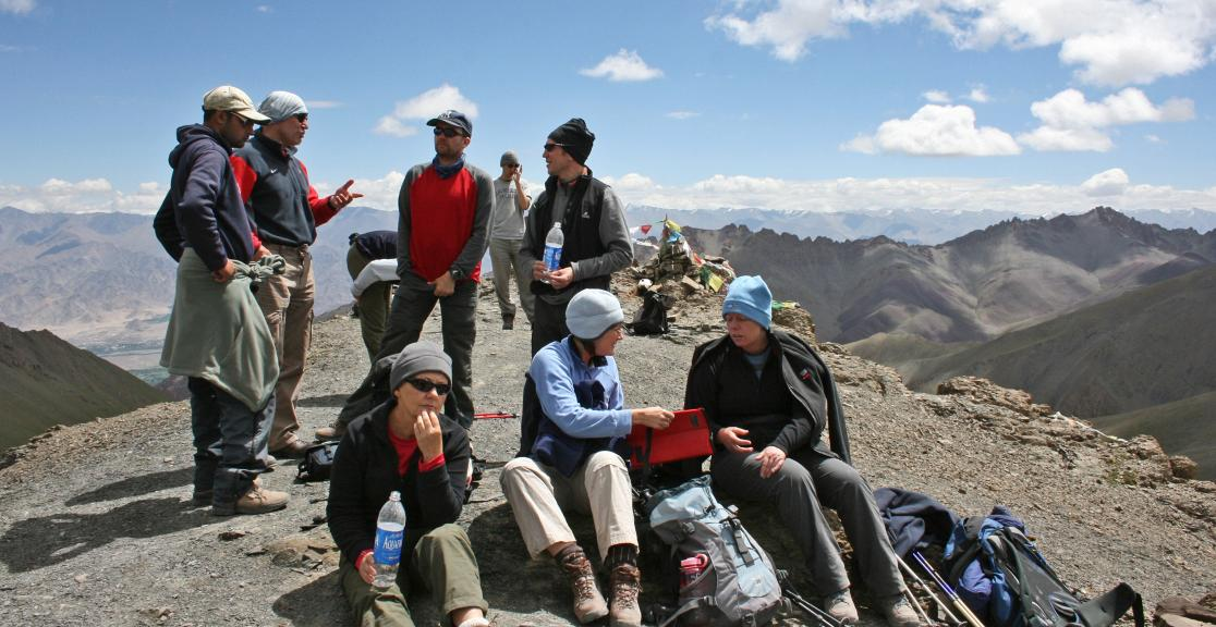 Stok Kangri Charity Mountain Trek in India