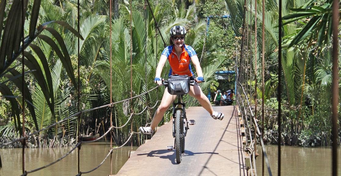 Charity Bike Ride from Vietnam to Cambodia