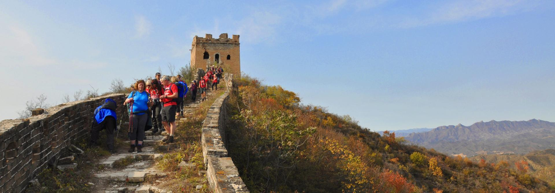A watchtower on the Charity Challenge Great Wall Discovery trek