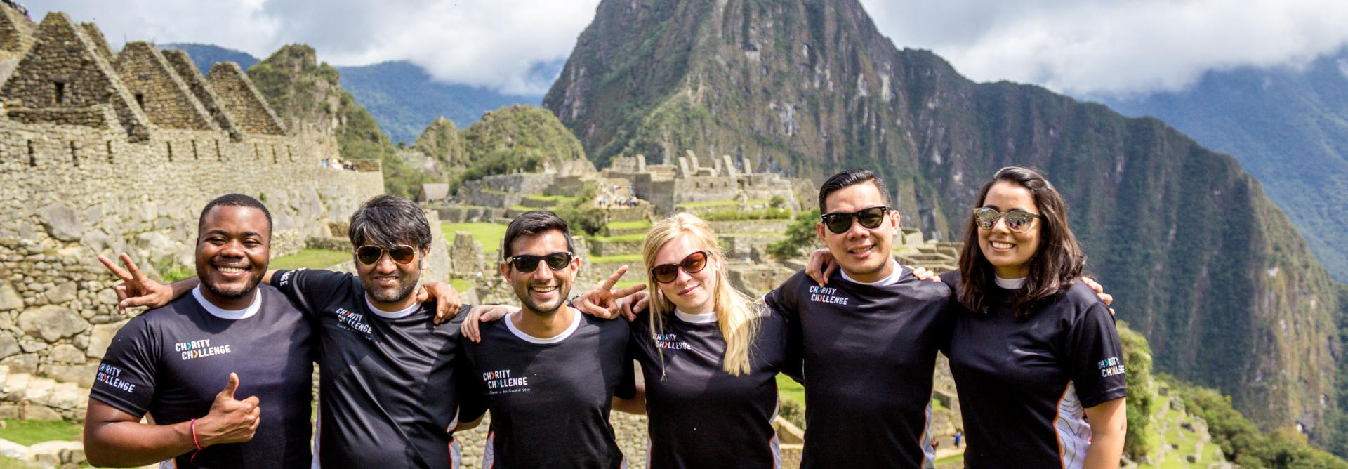 Charity Trek to Machu Picchu in Peru - charity challenge