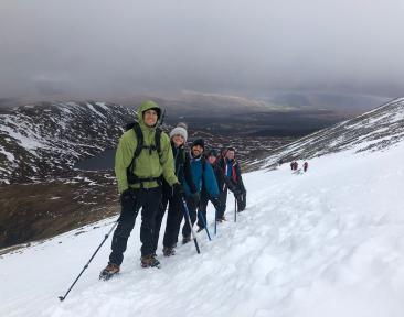 Winter Ben Nevis Weekend