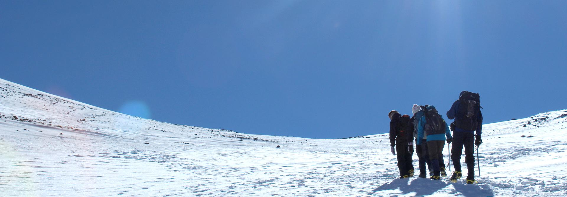 Winter Toubkal