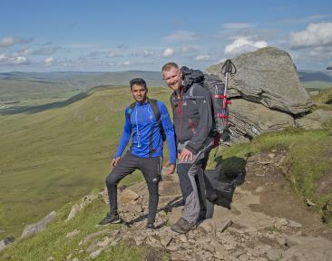 Yorkshire Three Peaks Charity Trek