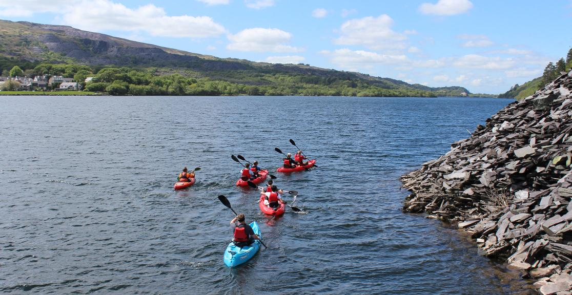 Snowdon Kayaking